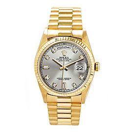 Rolex Day-date Yellow Gold Diamond, Sapphire Mens Watch
