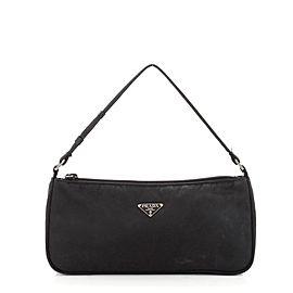 Prada Pochette Shoulder Bag Tessuto Small