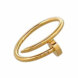 CARTIER 18k Pink Gold Juste Un Clou SM Ring