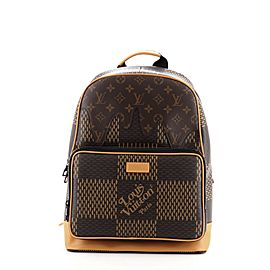 Louis Vuitton Nigo Campus Backpack Limited Edition Giant Damier and Monogram Canvas