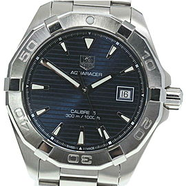 TAG HEUER Stainless Steel/Stainless Steel Aqua Racer Watch RCB-89