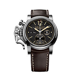Graham Chronofighter Vintage 2CVAS.B01A.L126S 44mm Mens Watch