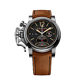 Graham Chronofighter Vintage 2CVAS.B03A.L128S 44mm Mens Watch