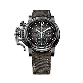 Graham Chronofighter Vintage Aircraft 2CVAV.B19A.T39T 44mm Mens Watch