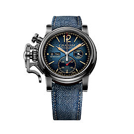 Graham Chronofighter Vintage Aircraft 2CVAV.U03A.T37T 44mm Mens Watch
