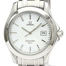 OMEGA stainless Steel Seamaster Watch