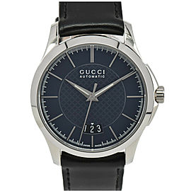 GUCCI G Timeless 126.4 YA126443 Blue Dial Automatic Men's Watch