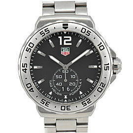 TAG HEUER Formula 1 WAU1112 black Dial Date SS Quartz Men's Watch