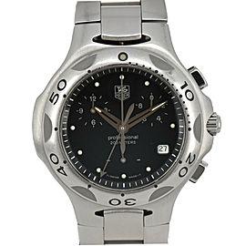 TAG HEUER Kylium CL1110.BA0700 Chronograph black Dial Quartz Men's Watch