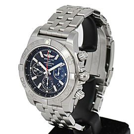BREITLING Chrono mat 44 AB0110 black Dial Automatic Men's Watch