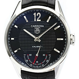 Polished TAG HEUER Carrera Vintage Calibre 01 Steel Mens Watch WV3010