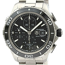 TAG HEUER CAK2110 Aquaracer Stainless steel 500M Calibre 16 Automatic Watch