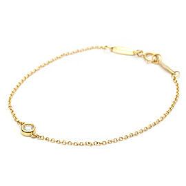 TIFFANY & CO. 18K Pink Gold Elsa Peretti Diamonds By The Yard Bracelet