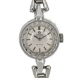 OMEGA De ville Silver Dial SS Automatic Ladies Watch