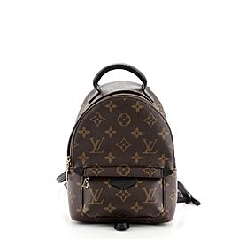 Louis Vuitton Palm Springs Backpack Monogram Canvas Mini