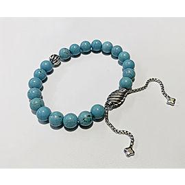 David Yurman Spiritual Beads Bracelet with Turquoise