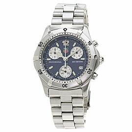 TAG HEUER Stainless Steel/Stainless Steel Classic 2000 Series Chronograph CK1112 Watch