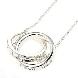 TIFFANY & Co 925 Silver Necklace TBRK-180