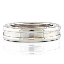 BVLGARI 18K white gold B-zero.1 Ring CHAT-478