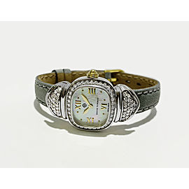 David Yurman Sterling Silver Diamond MOP Dial Watch T-24005