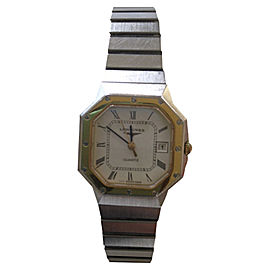 Longines Stainless Steel 32.53mm Octagon Shape Watch