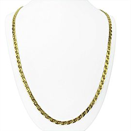 BVLGARI 18k Yellow Gold 57g Solid Anchor Mariner Link Chain Necklace Italy 32""