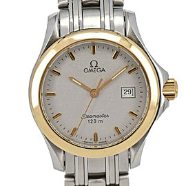 OMEGA Seamaster 120M Stainless&Gold Plated Quartz Women's Watch