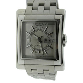 Bedat & Co. #7 Day-Date Stainless Steel 39mm Watch