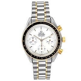 Omega Speedmaster Steel Yellow Gold Chronograph Mens Watch 3310.20.00