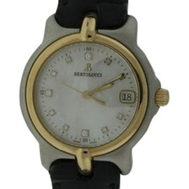 Bertolucci VIR Pulchra Two Tone Diamond 36mm Mens Watch