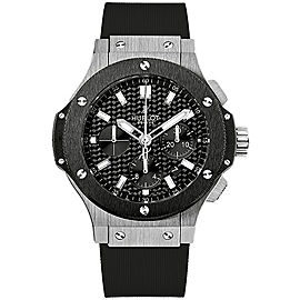 Hublot Big Bang Evolution 301.SM.1770.RX Stainless Steel, Ceramic & Polyurethane 44mm Mens Watch