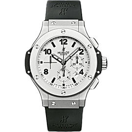 Hublot Big Bang 301.TI.450.RX Platinum & Rubber 44mm Mens Watch