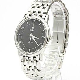 OMEGA De Ville Prestige Steel Quartz Mens Watch