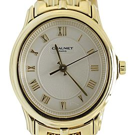 Chaumet 18K Yellow Gold Quartz Timepiece Bracelet Womens Watch