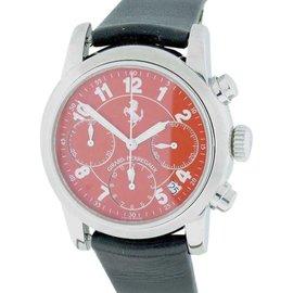 Girard Perregaux Ferrari 80200 Chronograph Stainless Steel Automatic 38mm Mens Watch