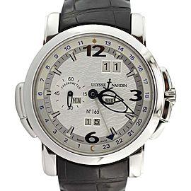 Ulysse Nardin GMT Perpetual 329-60 Platinum Calendar Watch