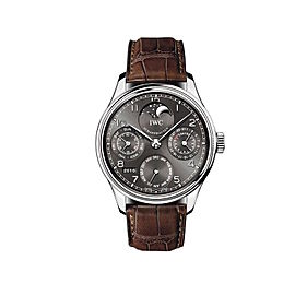 IWC Portuguese Perpetual Calendar Perpetual Moonphase Men's Watch
