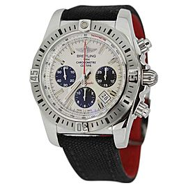 Breitling Airbourne AB0115 Chronomat White Dial Military Strap Watch