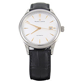 Maurice Lacroix Les Classiques Stainless Steel / Leather 40mm Mens Watch