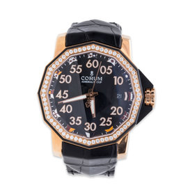 Corum Admirals Cup Competition 082.954.85/0081 PN33 18K Rose Gold 40mm Watch