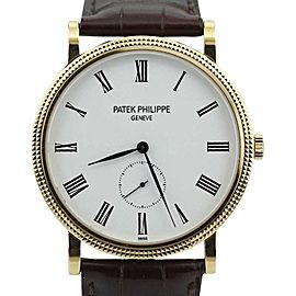 Patek Philippe Calatrava 5119J-001 18K Yellow Gold Manual Wind Watch