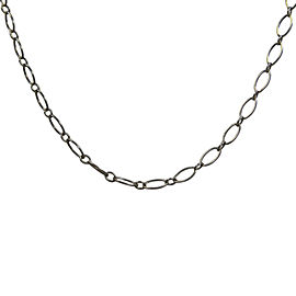 Tiffany & Co. Sterling Silver Marquise Link Necklace