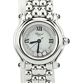 Chopard Happy Sport 27/8250-23 Mini Quartz Happy Diamonds Womens Watch