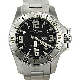 Ball Watch Co. Engineer Hydrocarbon DM1036A Stainless Steel Black Dial Automatic 44mm Mens Watch