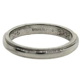Tiffany & Co. Platinum 950 Wedding Band Ring Sz 6.5