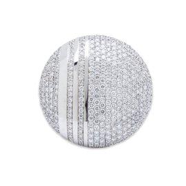 Messika 18k White Gold 2.96ct Diamond Ring Sz 7.5