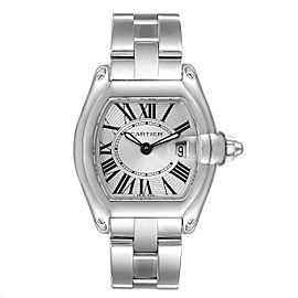 Cartier Roadster Silver Dial Small Model Steel Ladies Watch W62016V3