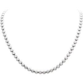 Tiffany & Co. Elsa Peretti Platinum 6.50 Ct Diamond Tennis Necklace
