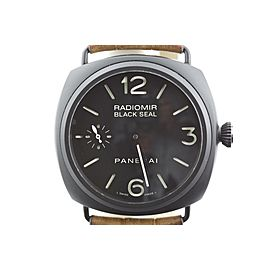 Panerai Radiomir PAM292 Black Ceramic Sandwich Dial Manual 44.5mm Watch