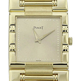 Piaget Dancer 18K Yellow Gold Quartz 23mm Womens Watch